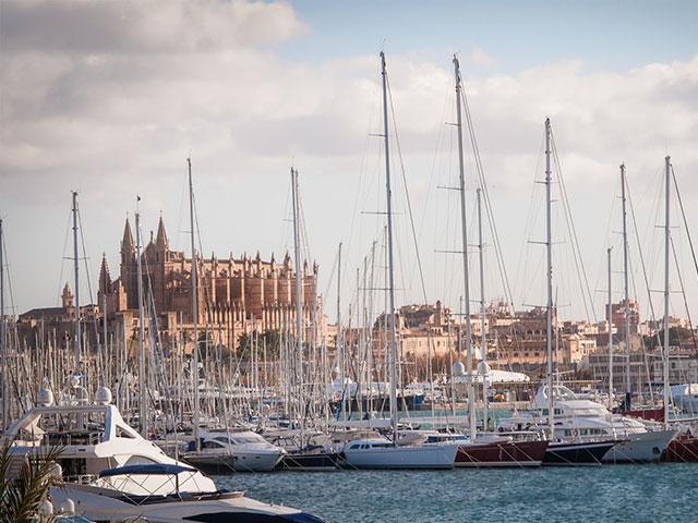 Yachtrecht Hafen Mallorca